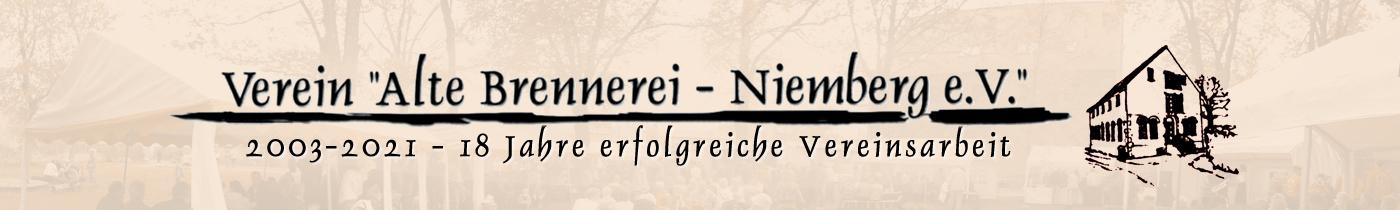 """Verein """"Alte Brennerei – Niemberg e.V."""""""